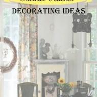 summer kitchen decorating ideas