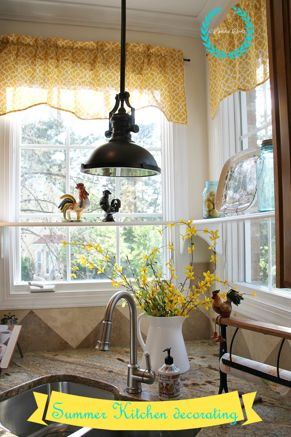 summer kitchen decorating ideas