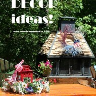 Patriotic decor ideas for the deck and garden