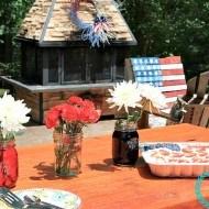 Patriotic dessert in 5 minutes