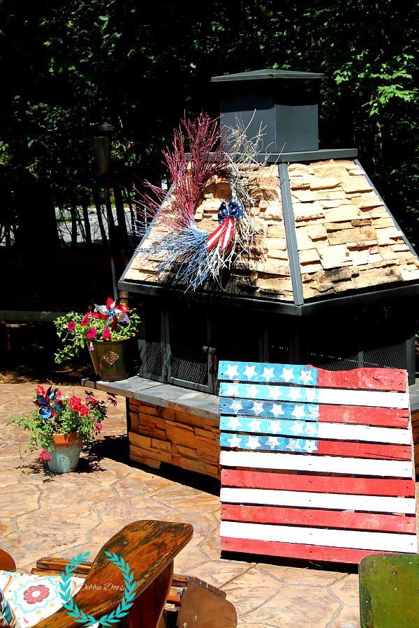 patio patriotic decorating ideas