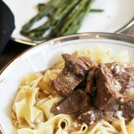 Fast and Easy Beef Stroganoff recipe
