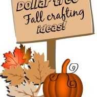Dollar tree Fall decor and craft ideas