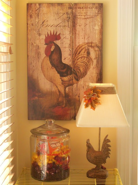 Fall lamp shade