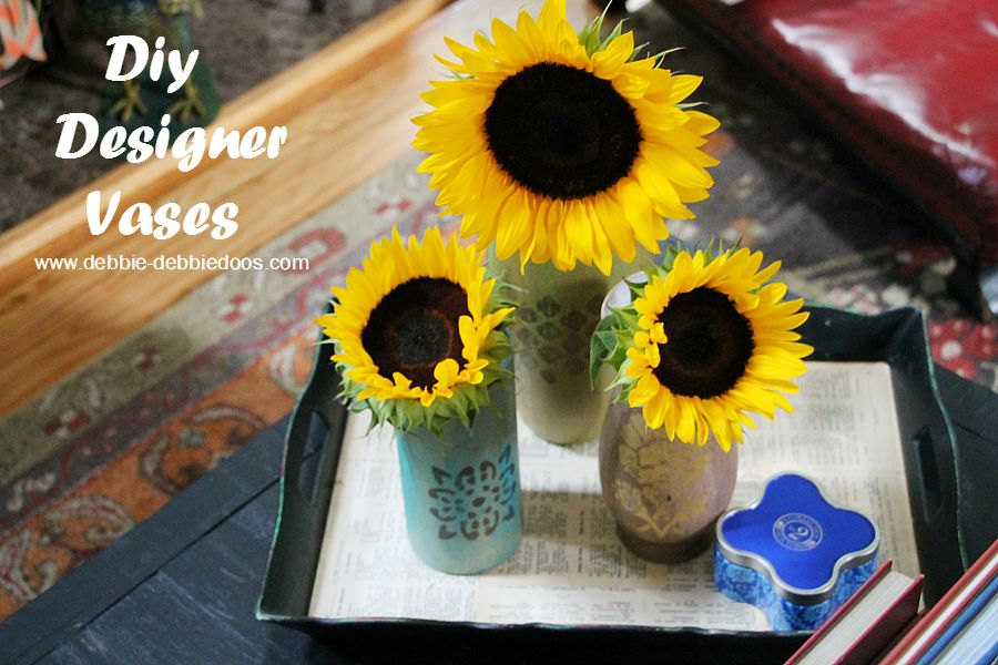 How to make your own designer vases for a fraction of the cost