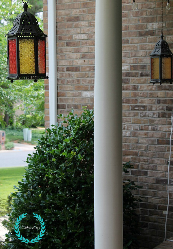 lanterns for the front porch