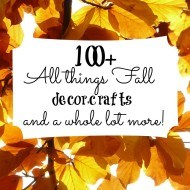 100+ Fall decorating, crafts and more