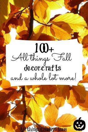 All things Fall creative team presents over 100 decor, crafts, recipes and more for the Harvest season