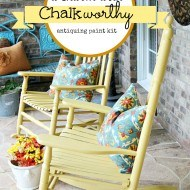Chalkworthy painted rockers