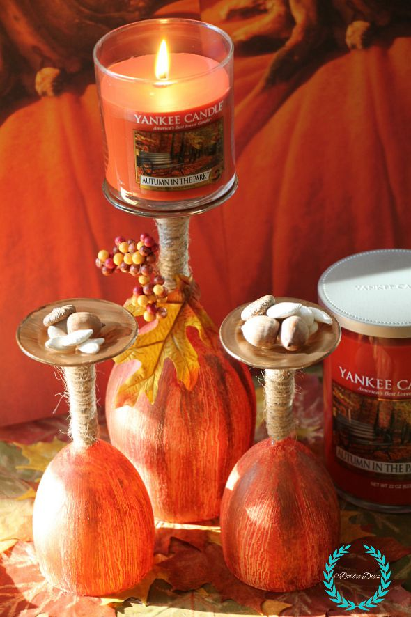 Autumn in the park Yankee candle