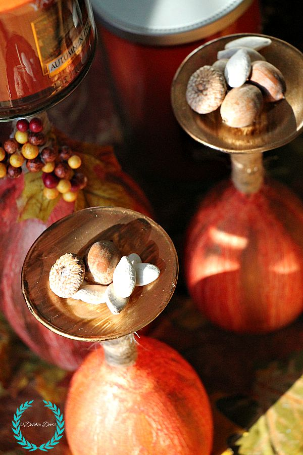 Fall vignettes and craft ideas