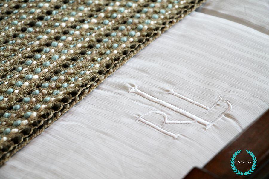 Ralph Lauren full size bedding found at Home goods