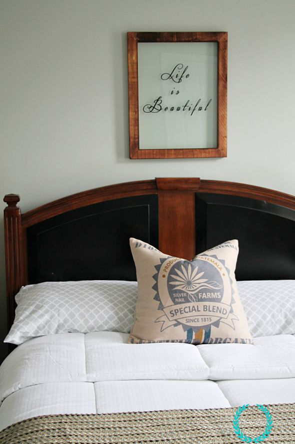 bedroom makeover with unisex decor and style