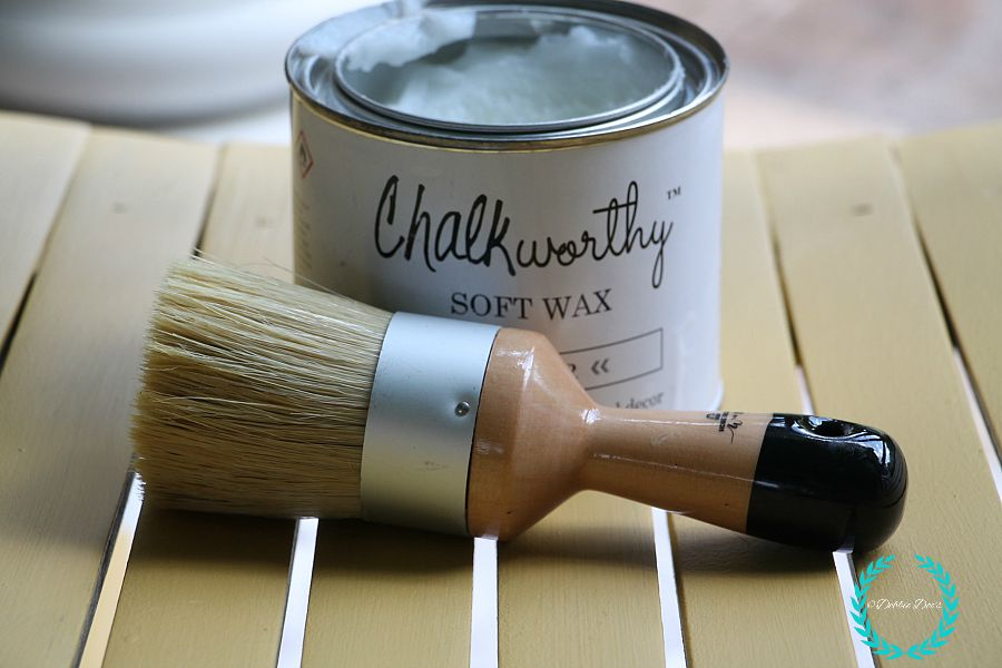 chalkworthy wax and brush