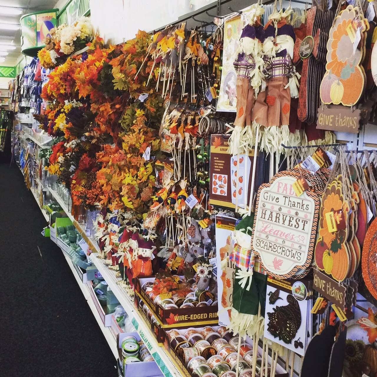 Dollar Tree Store: Rustic Wood Pumpkins