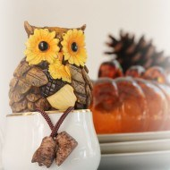 How to make your own Fall art on burlap