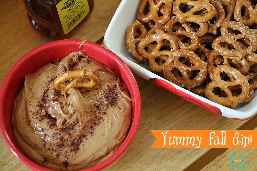 peanut butter party fall dip