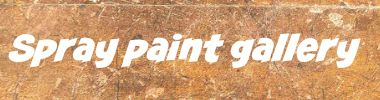 spray paint gallery