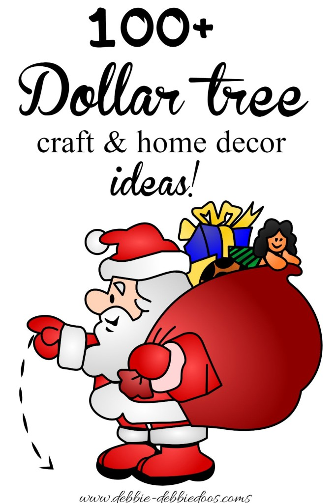 100+ Dollar tree craft and home decor ideas