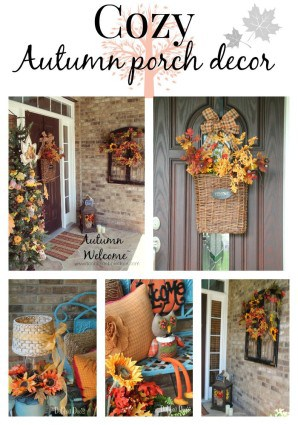 Cozy Autumn porch decor
