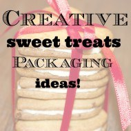 Creative sweet treats packaging ideas