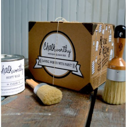 Chalkworthy paint and wax kit