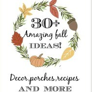30+ Fall decor and more ideas with the bHome gals