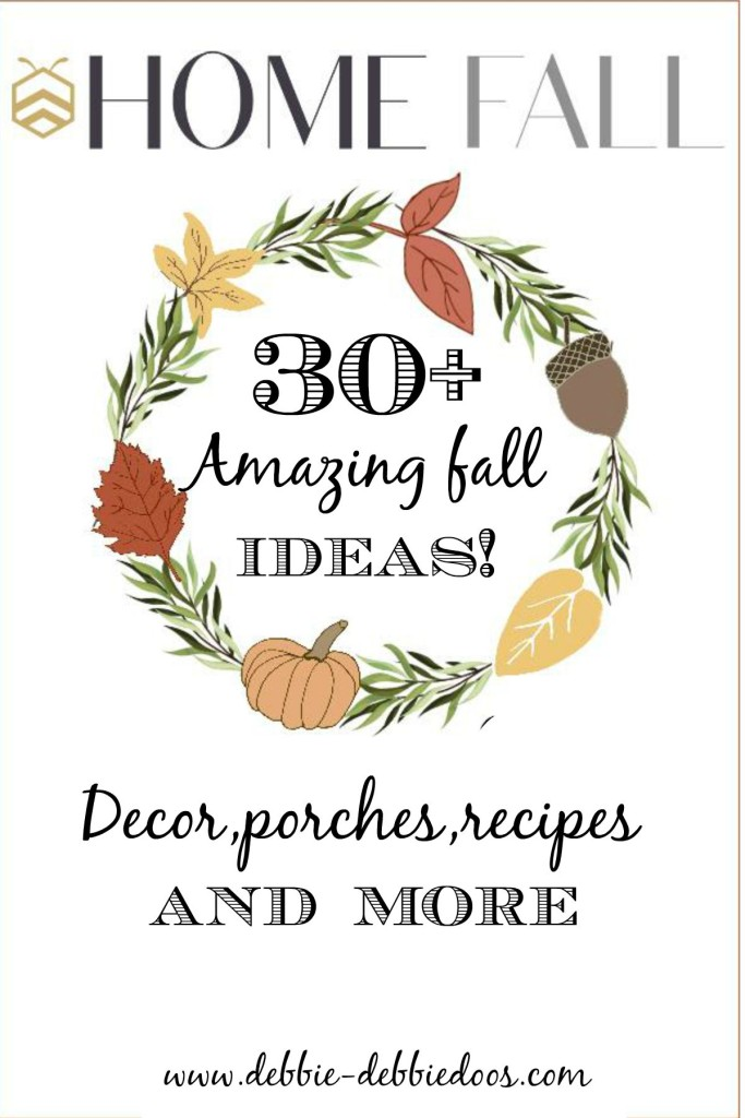 bHome fall event with over 30 amazing fall decorating, recipes, crafts and more ideas.