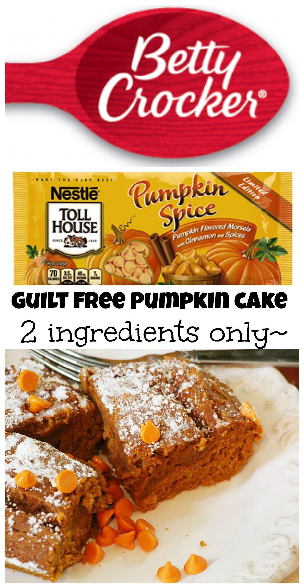 Low Fat Pumpkin Cake 84