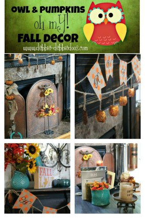 owls and pumpkins decorating ideas for fall