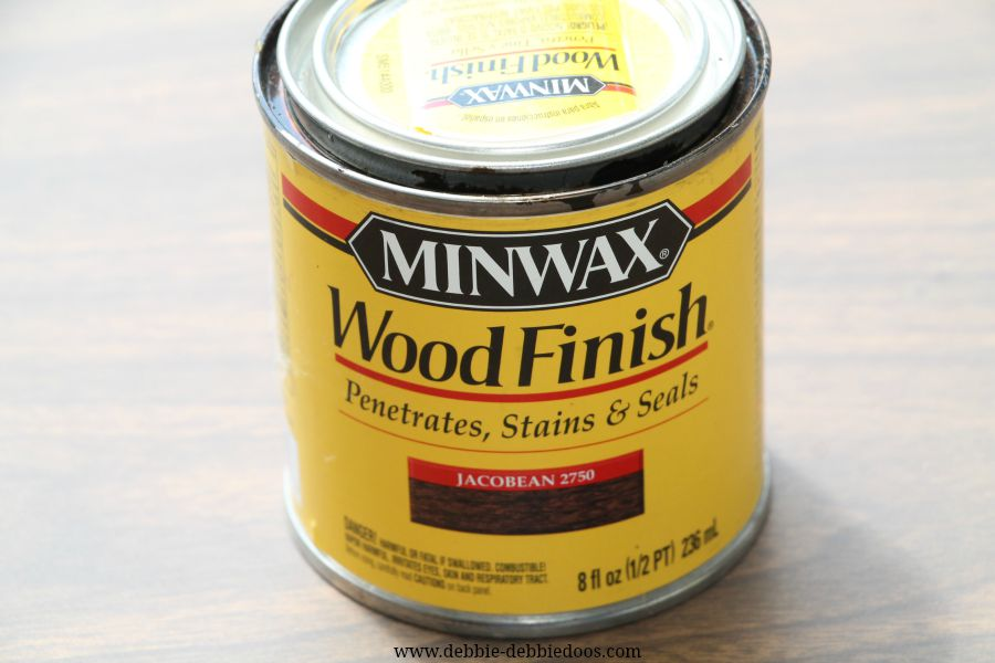 staining furniture with minwax