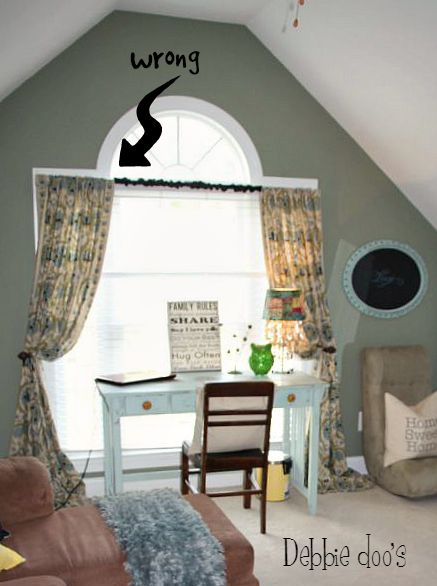 how to hang curtains with towel hooks debbiedoos. Black Bedroom Furniture Sets. Home Design Ideas