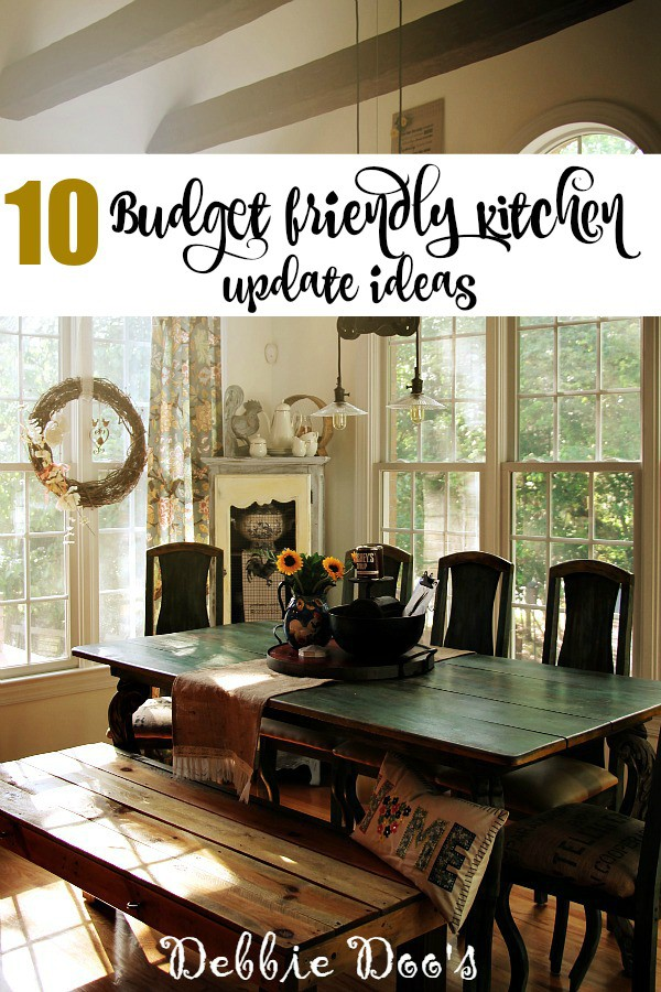 10 Budget friendly kitchen update ideas