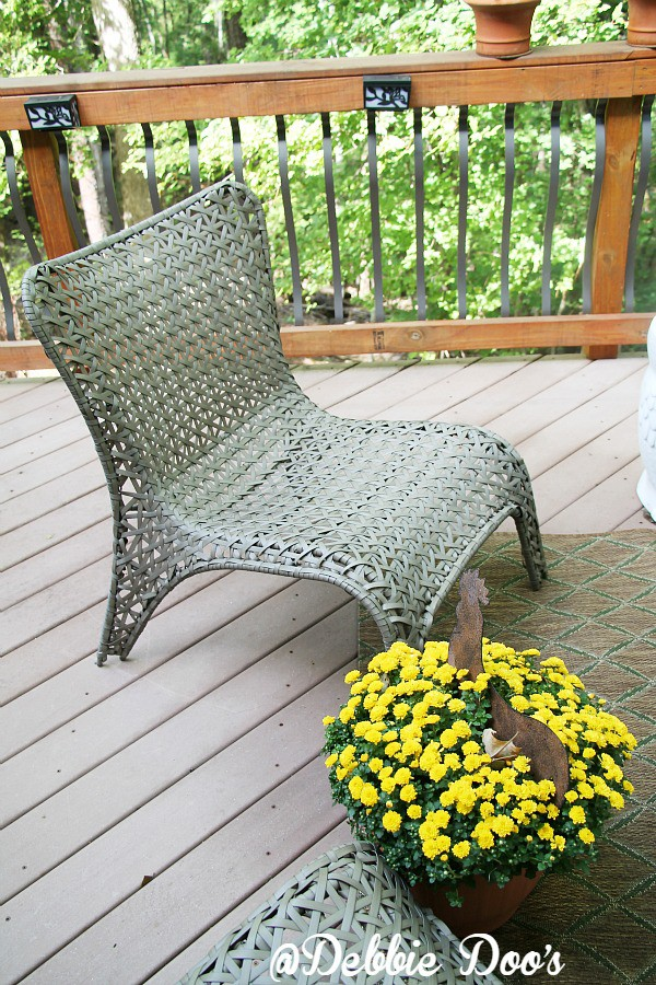patio chair from Lowes