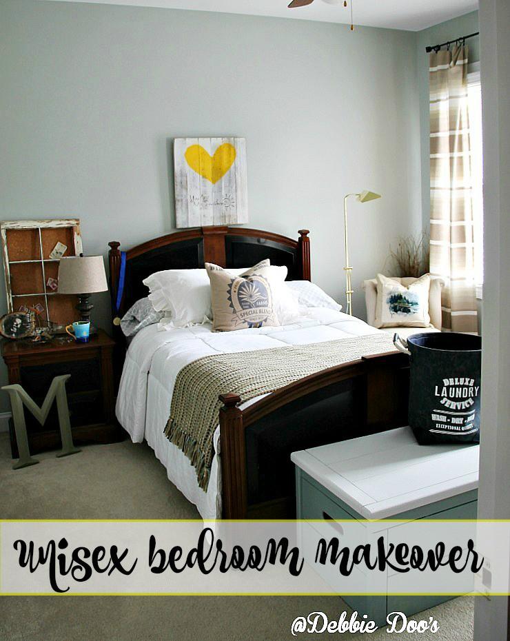 How to create a unisex bedroom debbiedoos for Unisex bedroom designs