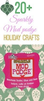 20 sparkly craft ideas