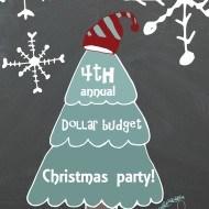 Dollar store Christmas extravaganza