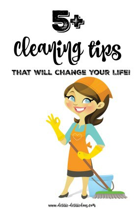 5+Cleaning tips that will change your life