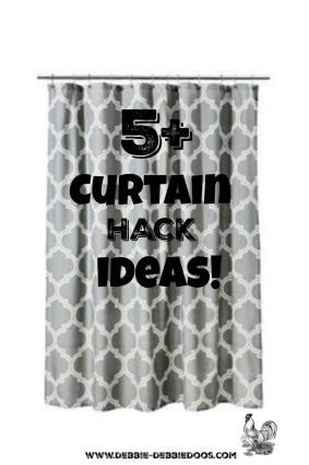 5+ Curtain hack ideas