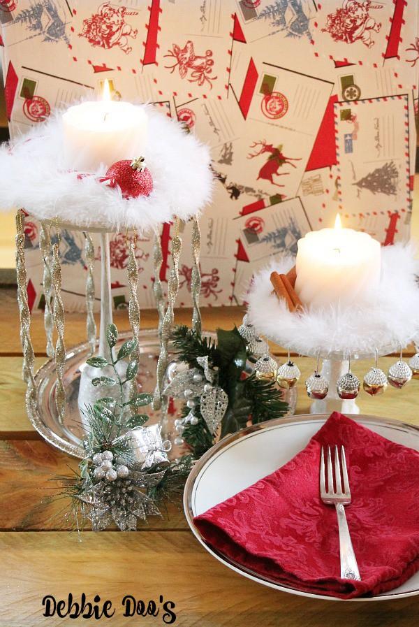 Christmas Table Centerpiece Decoration Ideas