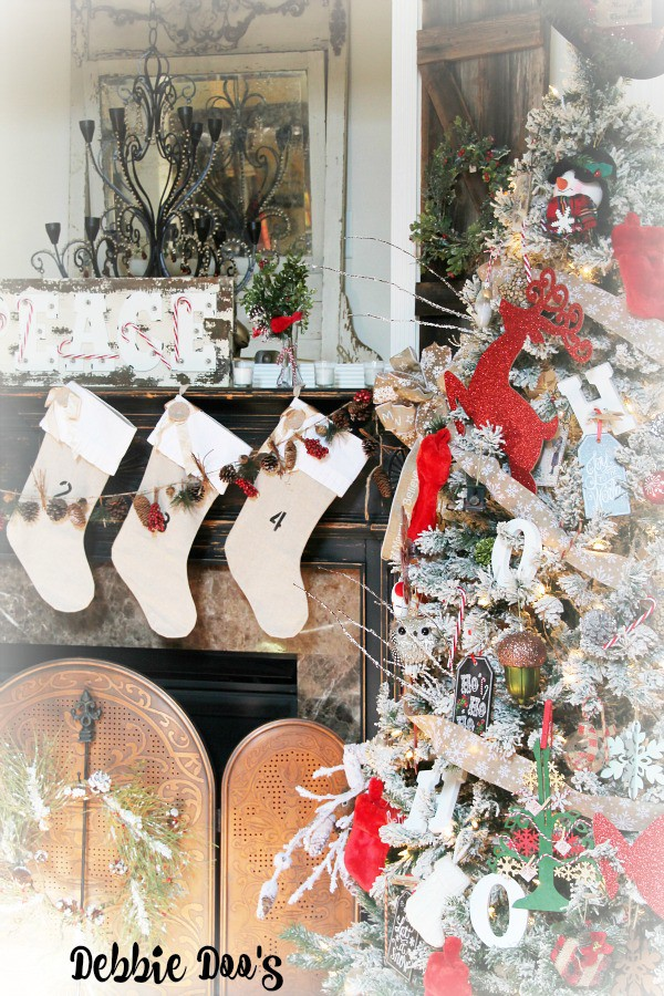 Festive holiday tree and mantel ideas