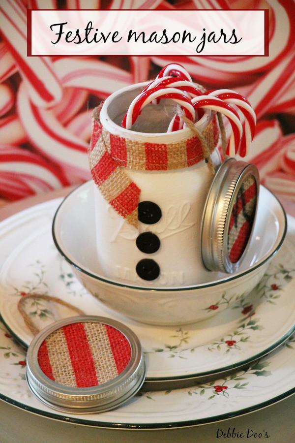 Festive mason jar gift ideas