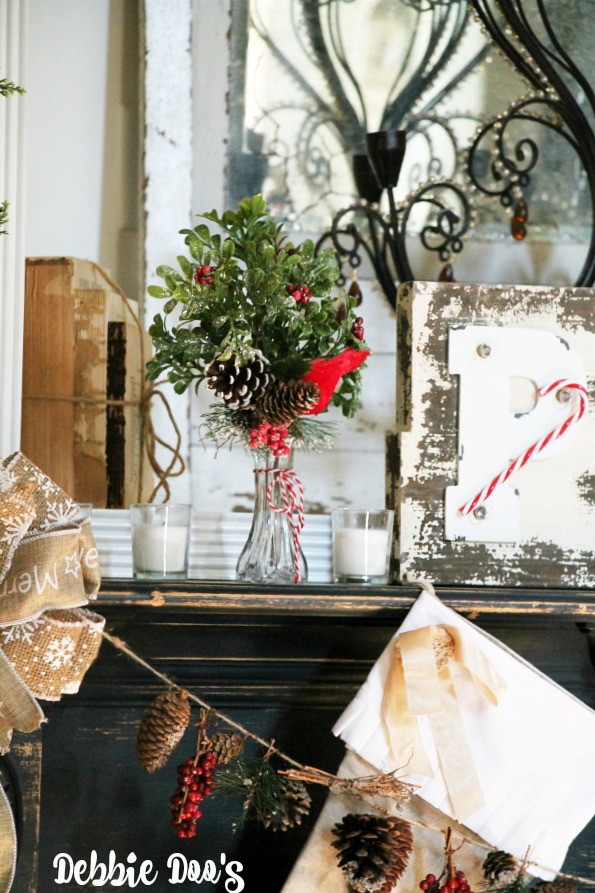 Merry Mantel Christmas decorating ideas