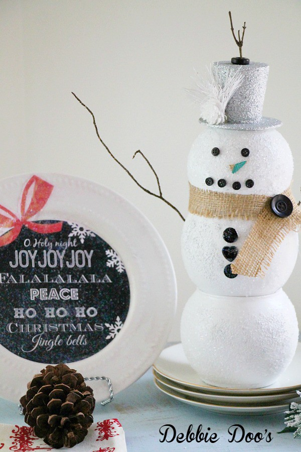Mod podge and sparkle Christmas craft ideas with dollar tree decor
