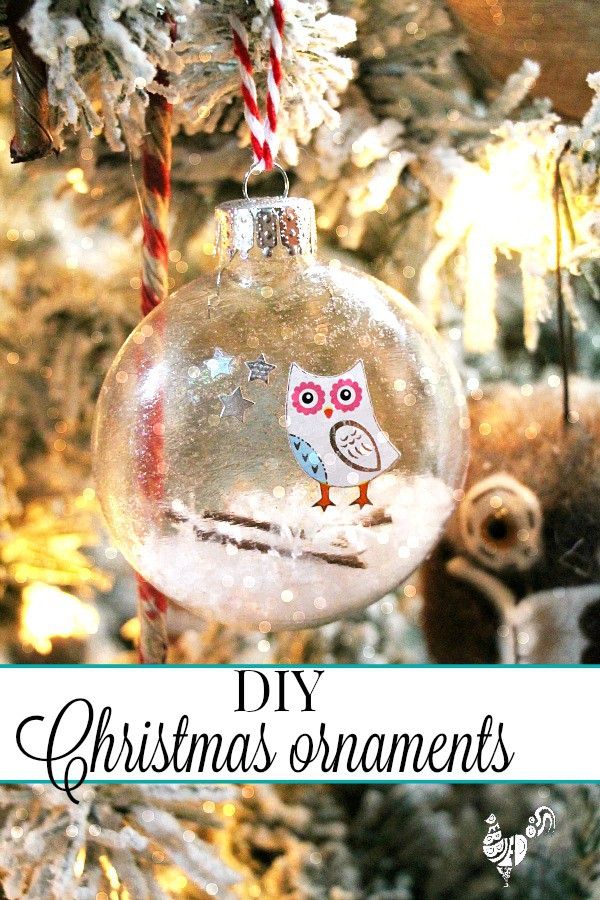 diy christmas glass ornaments