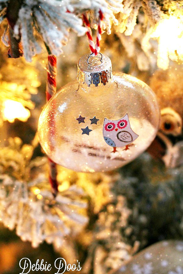 How to make diy glass owl ornament