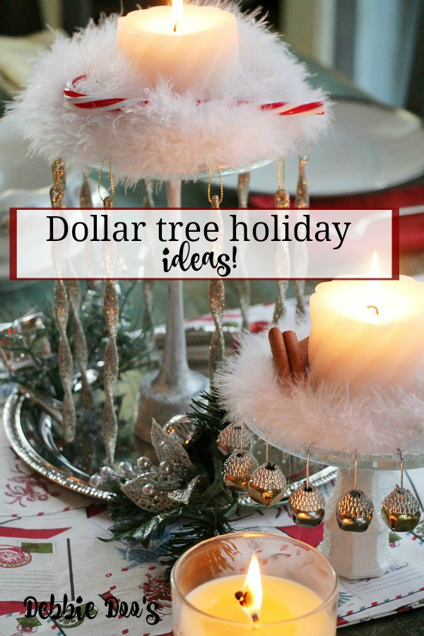 Dollar-tree-Christmas-table-centerpiece-idea