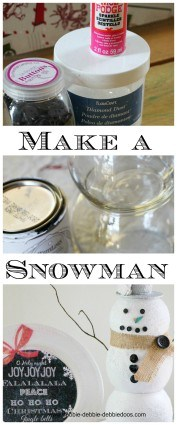 How to build a snowman without any snow