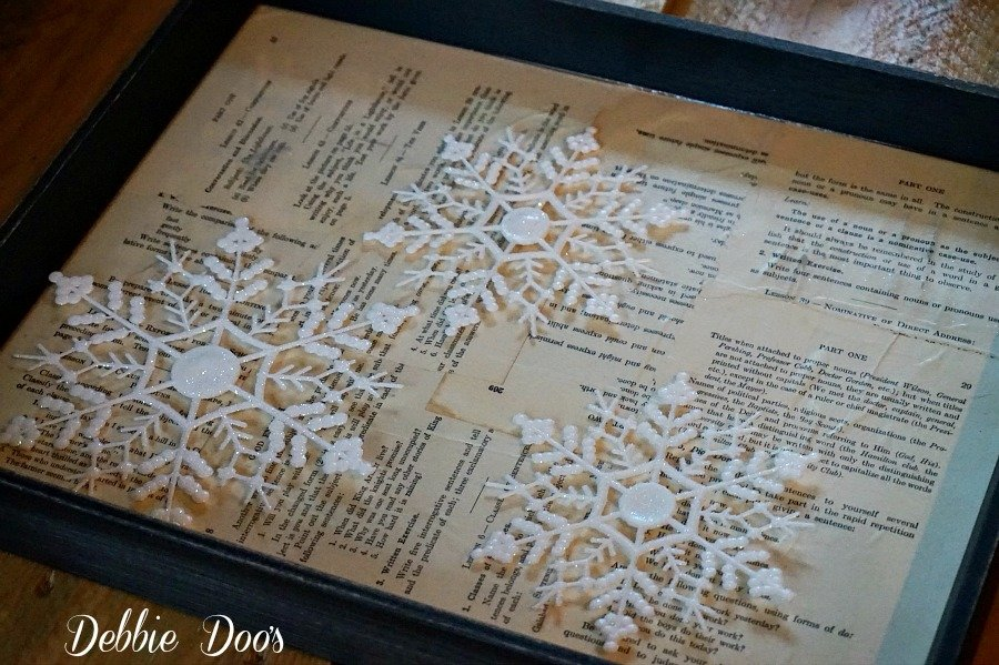 Winter snowflake craft idea