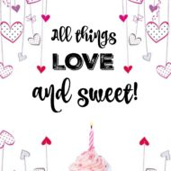 All things Love and chocolate
